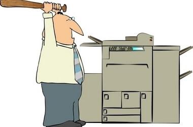 Máy Photocopy thường xuyên bị kẹt giấy