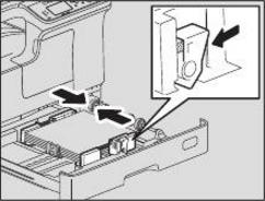 Nạp giấy trong ngăn kéo