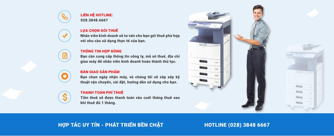 Thủ tục thuê máy photocopy