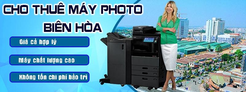 Cho thuê máy photo Biên Hòa giá rẻ chất lượng