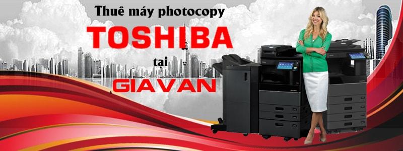 Cho thuê dòng máy photocopy Toshiba