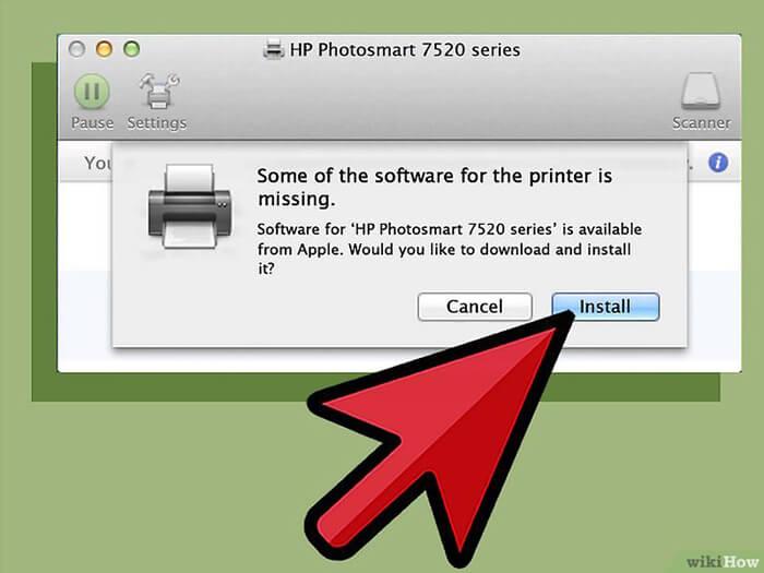 Kết nối Máy in với Máy tính Mac 2