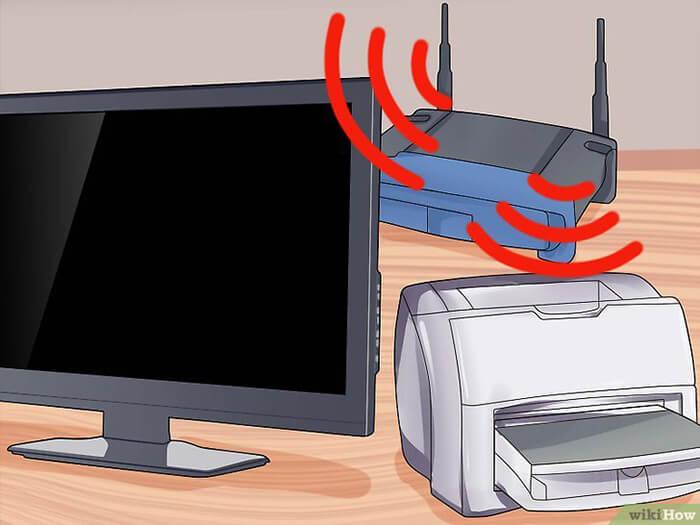 Cách Cài đặt Máy in qua Mạng không dùng dây 2