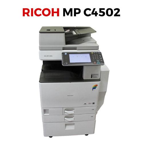 Máy photocopy màu Ricoh MP C4502